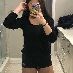 Banana Republic Black Wool Sweater